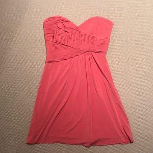 BCBG sweetheart strapless dress